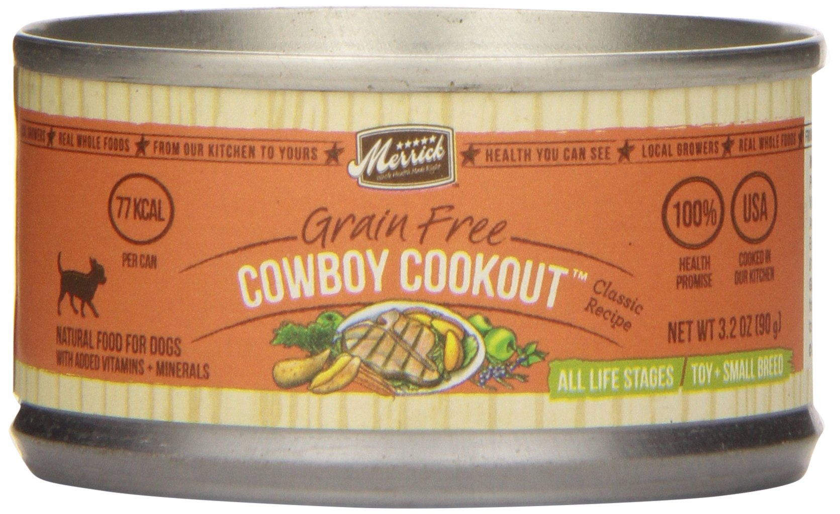 Classic Small Breed Cowboy Cookout Canned Dog Food (3.2-oz, case of 24)