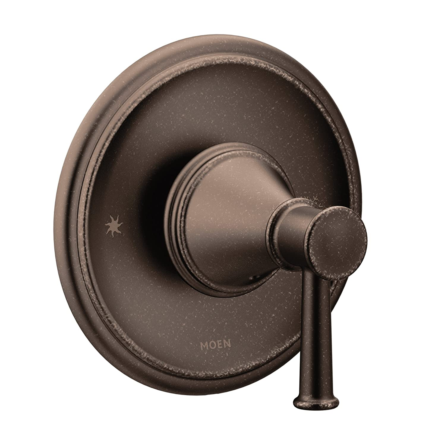 Oil Rubbed Bronze Moen T2311ORB Belfield 1-Handle Posi-Temp Pressure Balancing Trim Kit Without Valve