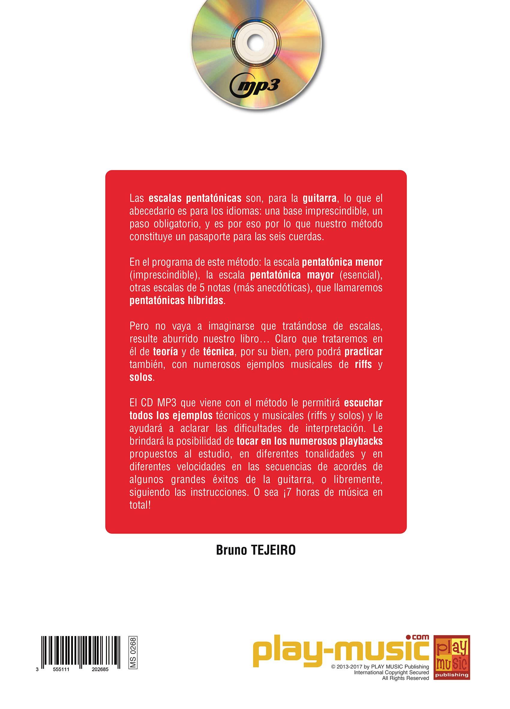 Las escalas pentatónicas a la guitarra - 1 Libro + 1 CD: Amazon.es ...