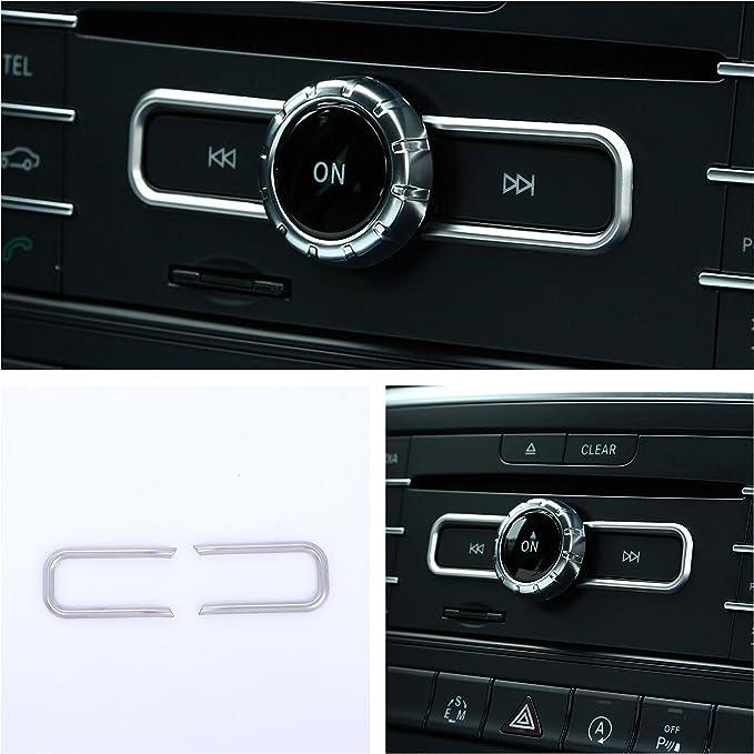 Emblem Trading Radio Armaturenbrett Veredelung Für A B C E Klasse Cla Gla Gle Auto