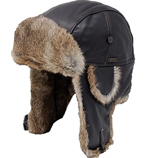 3cd0fca7163 Wigens Lindberg Leather Aviator Hat at Amazon Men s Clothing store