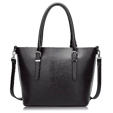ALARION Women Top Handle Satchel Handbags Top Purse Messenger Tote ...