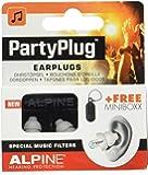 Alpine PartyPlug 2015 Bouchon d'oreilles pour Concert/Sortie Blanc