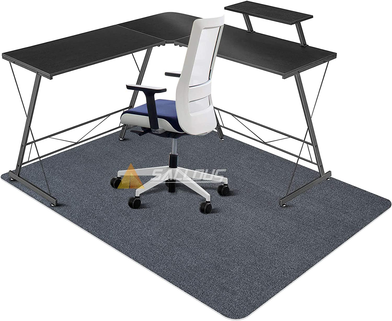 SALLOUS Chair Mat for Hard Floors, Upgraded Version - Office Chair Mat for Hardwood Floors, 1/4