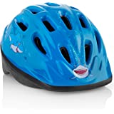 TeamObsidian KIDS Bike Helmet – Adjustable from Toddler to Youth Size, Ages 3-7. Durable Kid Bicycle Helmets w/Fun Aquatic Design Boys & Girls will LOVE - CE Certified, Safe & Comfortable - FunWave