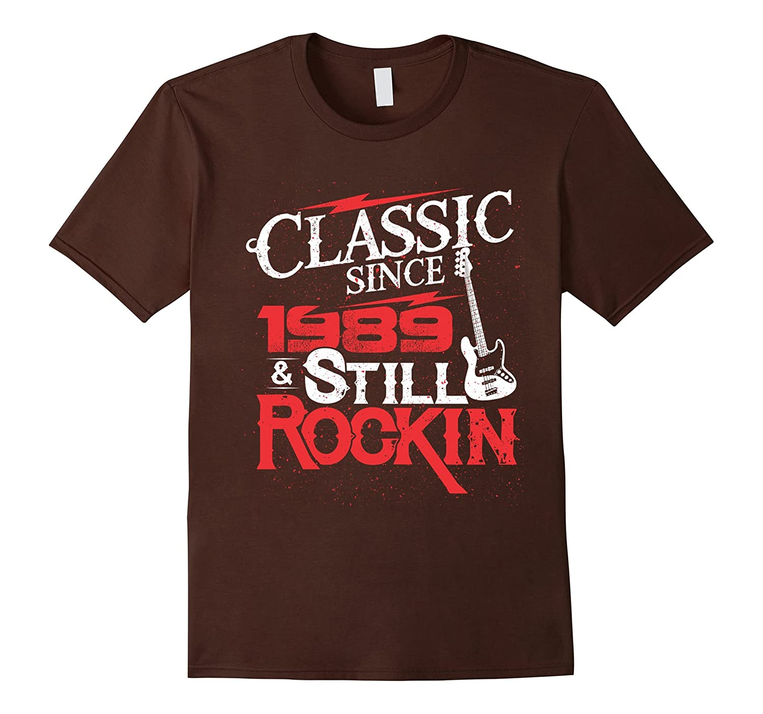 28 Years Old Gifts 28th Birthday Classic Since 1989 T-Shirt-FL