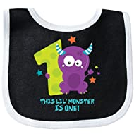 Inktastic - Monster 1st Birthday Baby Bib