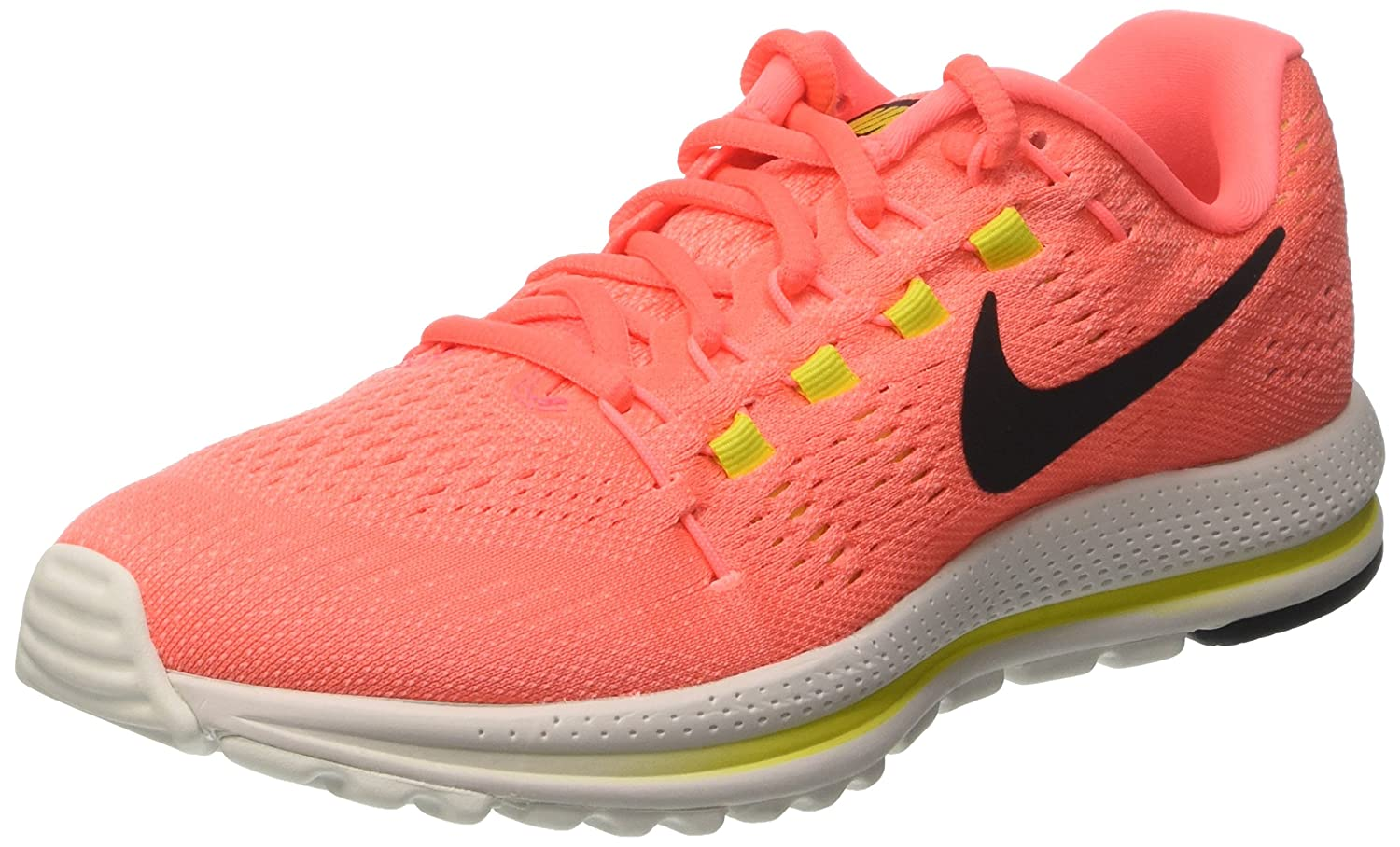 NIKE Men's Air Zoom Vomero 12 Running Shoe B00CLVNCUQ 6.5 M US|Hot Punch/Black/Lava Glow/Electrolime