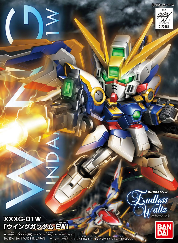 Bandai Hobby Bb366 Wing Gundam Ver Ew Sd Action Original Model Kits V Figure Toys Games