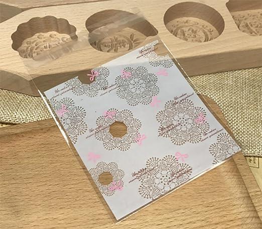 mistari 100 piezas galleta de Navidad bolsas con cierre ...