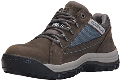 Caterpillar Women's Champ Steel Toe Work Shoe, Dark Gull Grey, ...
