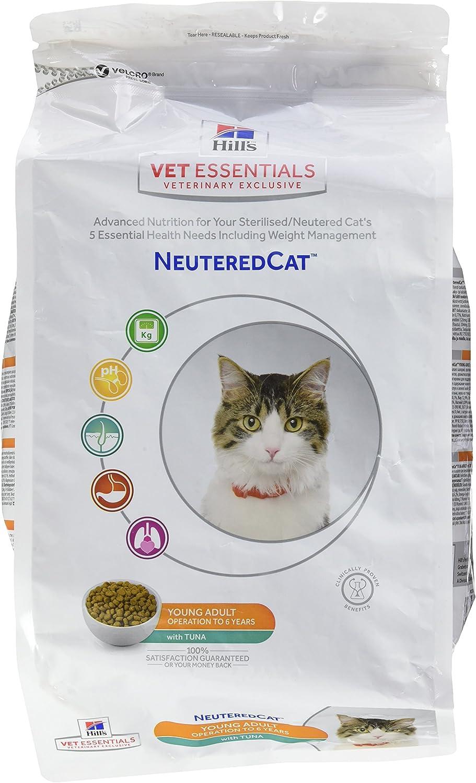 Hills Scie Hsp Feline Young Adult Vetessentials Neutered Atun 1,5Kg 1500 g - Lot de 2