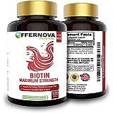 Vitaminas para el Cabello con Biotina - Pastillas para Crecimiento del Pelo y Barba | Fortalece