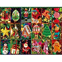 Katosca 1000 Piece Christmas Jigsaw Puzzles Set, Santa Claus, Snowman Puzzle is Suitable for Adults and Children…