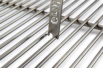 Rascador de rejilla de acero inoxidable | Limpiador de rejilla para parrillas | Limpiador de rejillas | Rascador de rejilla | Rascador de parrilla | 4mm 5mm ...
