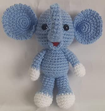 How to Make Crochet Along Elephant | Crochet animals free patterns ... | 355x334
