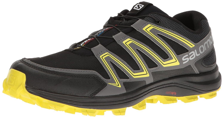 Salomon Men's Speedtrak-M Trail Runner B01HD5ZHBG 7.5 D(M) US|Black
