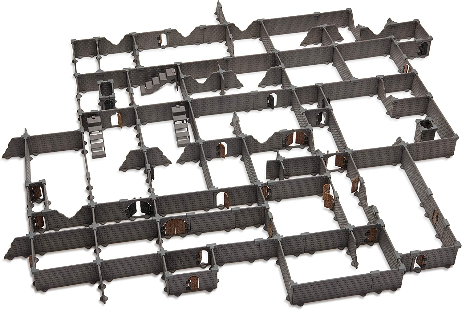Modular Dungeon System: Tabletop & RPG Terrain Game Set for Dungeons & Dragons, Pathfinder, Castles & Crusades, 13th Age, Runequest, Asunder, Zombicide, and More! - Knight Set (460+ Pieces)