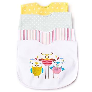 Amazon.com: Biko baberos de bebé – Super suave, resistente ...