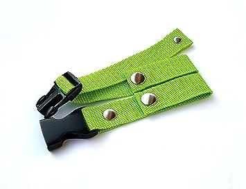 Pecho correa para mochilas escolares. y todas las marcas, Repuestos, mochila correa Pecho (A2), verde claro: Amazon.es: Deportes y aire libre