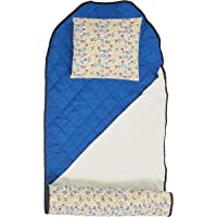 ECR4Kids Toddler Nap Mat Companion - All-in-One Nap Bundle with Liner, Blanket and Pillow, Loopty Loop Pattern