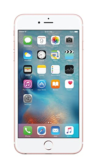 Apple iPhone 6S Plus (Rose Gold, 64GB)