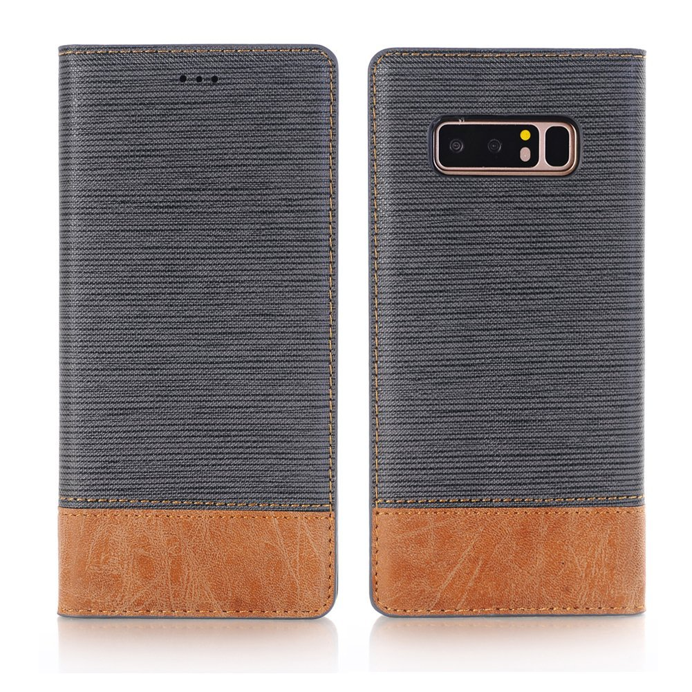 Galaxy Note 8 Case, Ayans Galaxy Note 8 Wallet Case [Card Slots ][Stand Feature] PU Leather Flip Wallet Case Cover for Galaxy Note 8