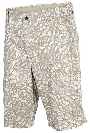 0312e106f5ca5b Jordan Men s Nike Fragmented Camo Jumpman Cargo Shorts-Beige-34 ...
