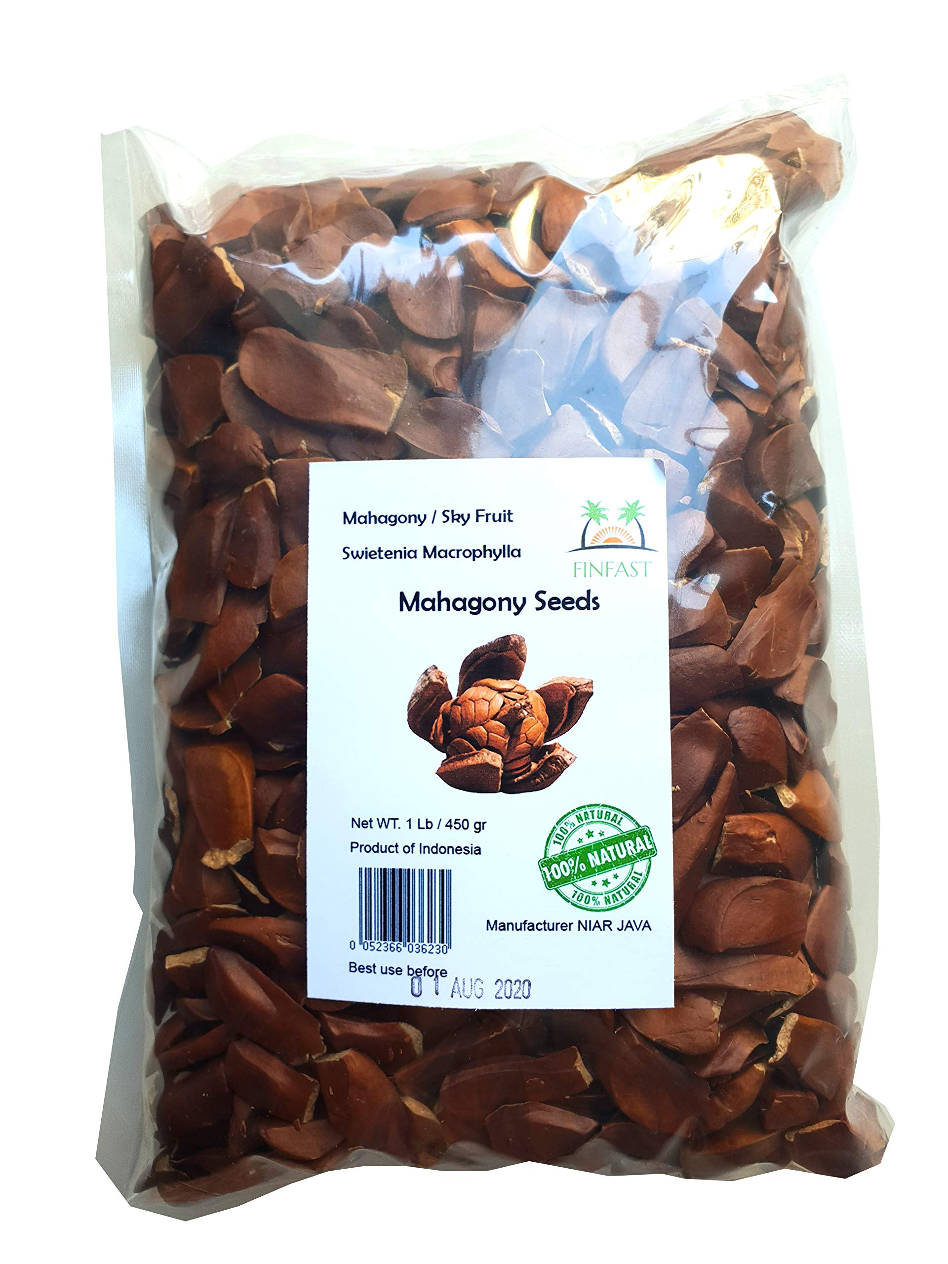 FINFAST - 1 lb Mahagony Seeds (swietenia macrophylla)