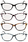 Classic and Elegant Cateye Reading Glasses - Free