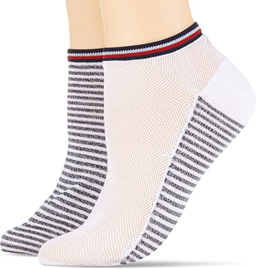 Pack de 2 para Mujer Tommy Hilfiger Calcetines,