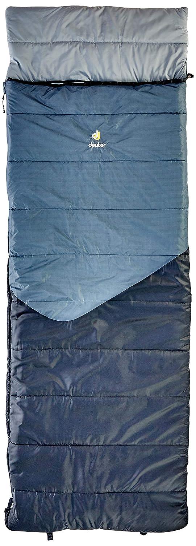 Deuter Space II Saco de Dormir, Unisex Adulto, Titan Black, Regular/Right Zipper: Amazon.es: Deportes y aire libre