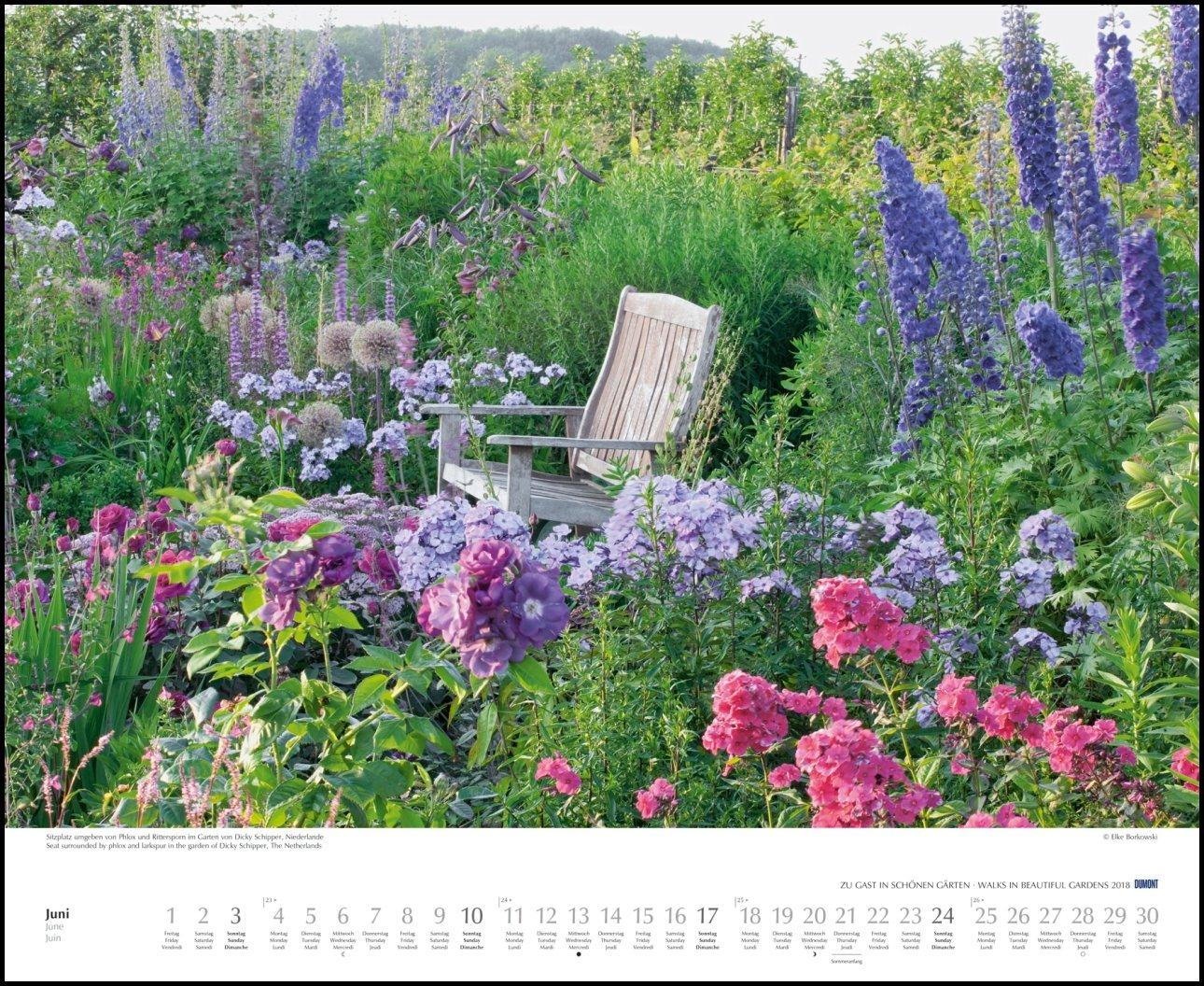 Zu Gast In Schönen Gärten 2018 Dumont Garten Kalender Amazonco
