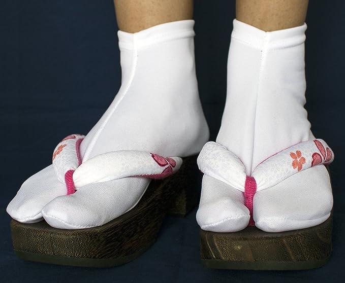 [Vigo Socks] Calcetines con flip flops Calcetines con interior Tabi Calcetines con sandalias, artes marciales, yoga y fitness (22cm~ 24cm (US 3~5/ EU 33.5~ ...