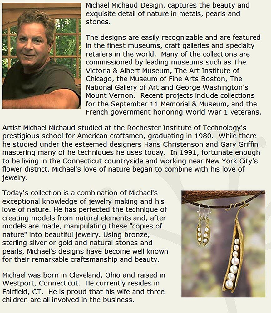 Michael Michaud Retired Irish Thorn Necklace 7946 BZG Retail Price $296