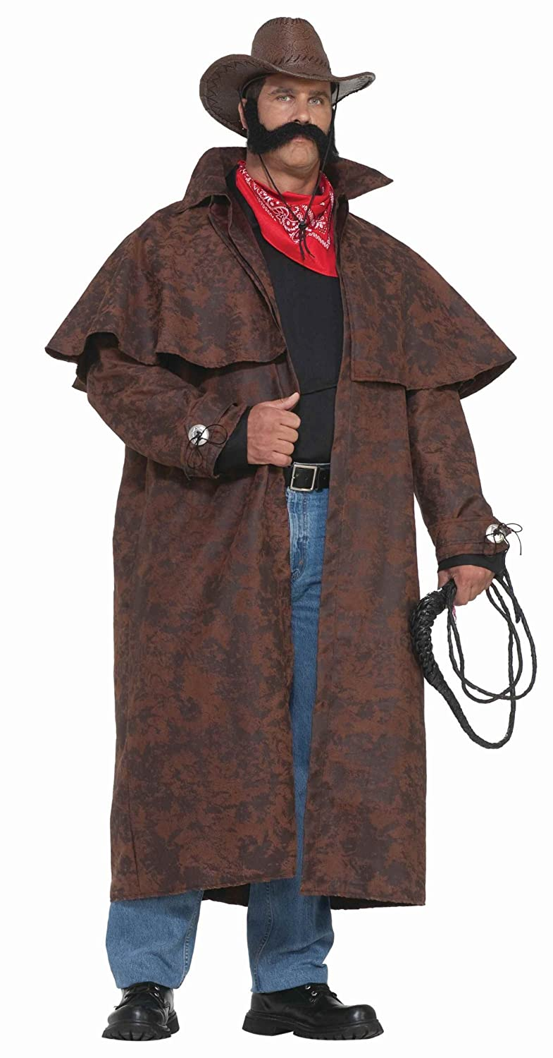 Amazon.com Forum Novelties Menu0027s Plus-Size Extra Big Fun Tex Costume Duster Coat Brown 3X-Large Clothing  sc 1 st  Amazon.com & Amazon.com: Forum Novelties Menu0027s Plus-Size Extra Big Fun Tex ...