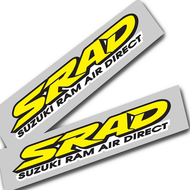 Ziondesigns Suzuki Srad Gelb Gsxr Srad Aufkleber Grafiken X 2 Auto