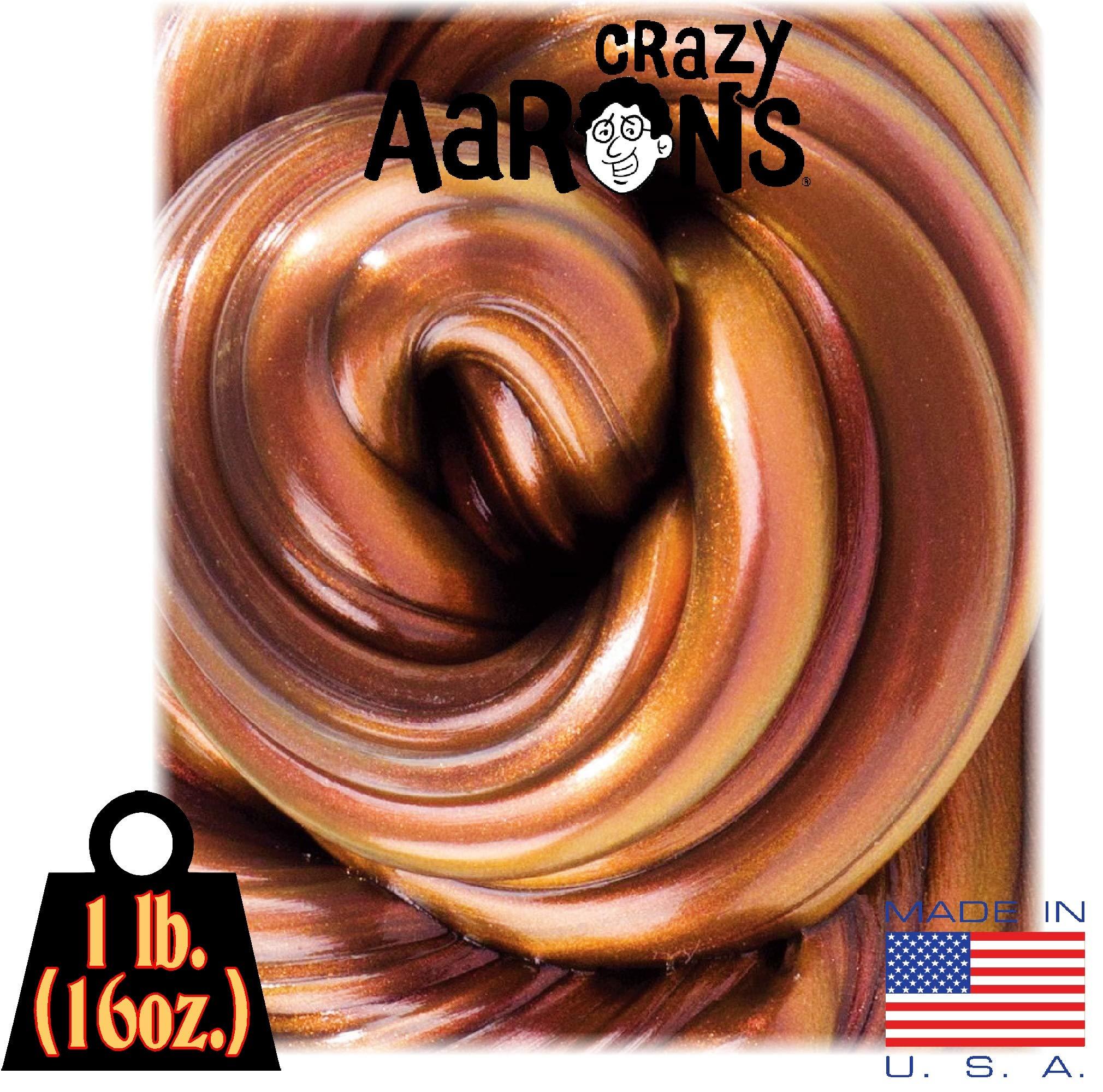 Crazy Aaron's Thinking Putty - Super Lava MEGA Tin - 1 LB Tin by Crazy Aaron's (Image #2)