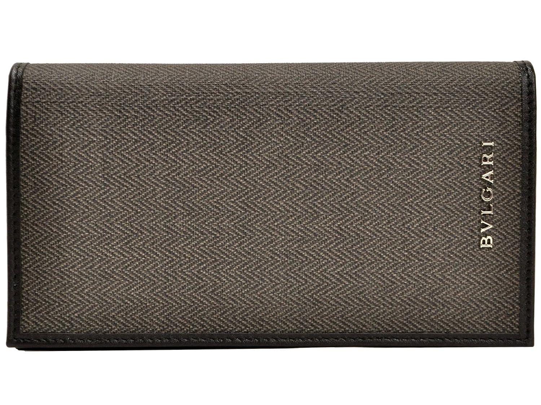(ブルガリ) BVLGARI 財布 メンズ 二つ折り長財布 グレー PVC レザー 32582 ブランド アウトレット 並行輸入品 B00O9U3G6W