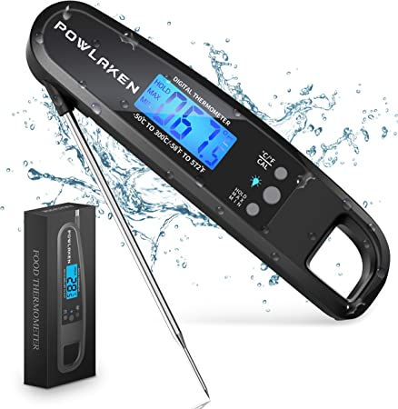 Powlaken Meat Food Thermometer for Grill and Cooking