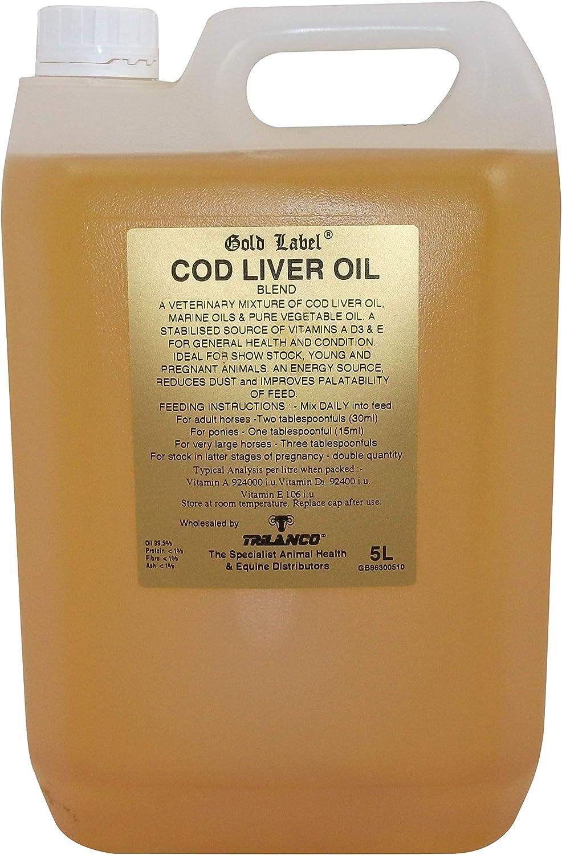 Gold Label - Aceite De Hígado De Bacalao - 5L
