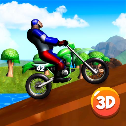 Motocross Bike Stunts Race 3D (Best Amazing Race Challenges)