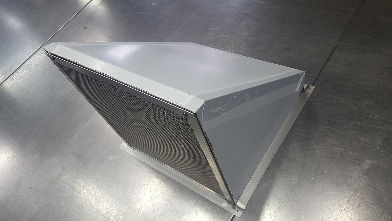 ステンレス製ウェザーカバー角型 SUS304 1.0t 2B (1000mm×1000mm) 1000mm×1000mm  B01M0Y4FGJ