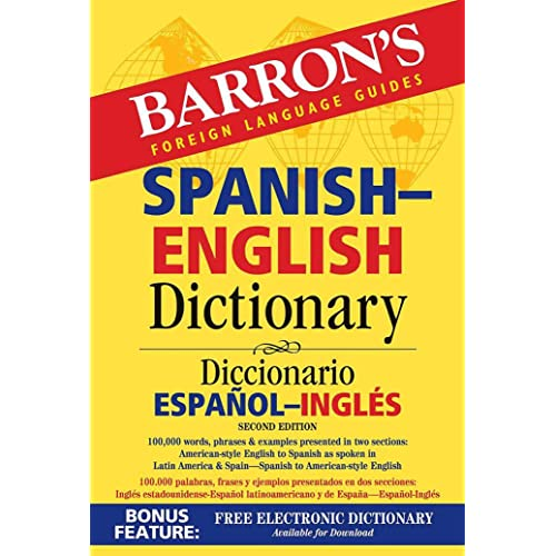 Barrons Foreign Language Guides Spanish-English Dictionary / Diccionario Espanol-Ingles