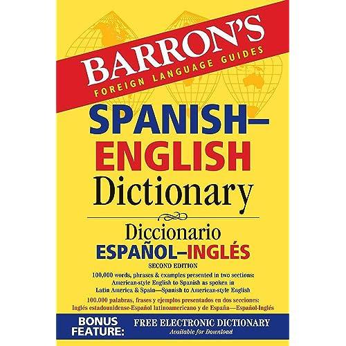 Barrons Foreign Language Guides Spanish-English Dictionary / Diccionario Espanol-Ingles