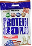 Weider, 80 Plus Protein, Erdbeer, 1er Pack (1 x 2kg)