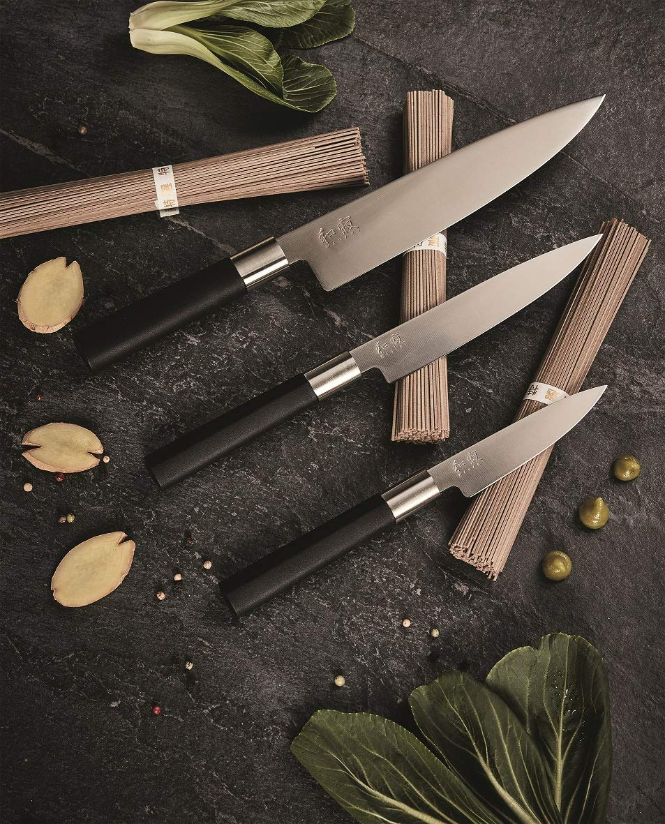 Kai 67 EB-W18 Wasabi Black - Juego de cuchillos, acero ...
