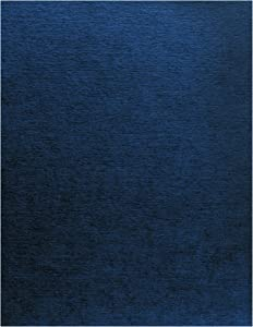Fellowes 52098 Linen Texture Binding System Covers, 11 x 8-1/2, Navy (Pack of 200)