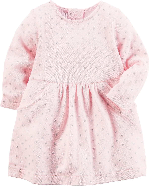 Carter's ピンク DRESS DRESS ベビーガールズ 6 Months Months ピンク B0768GHRND, 丸一製薬株式会社:22a2ae1f --- sharoshka.org