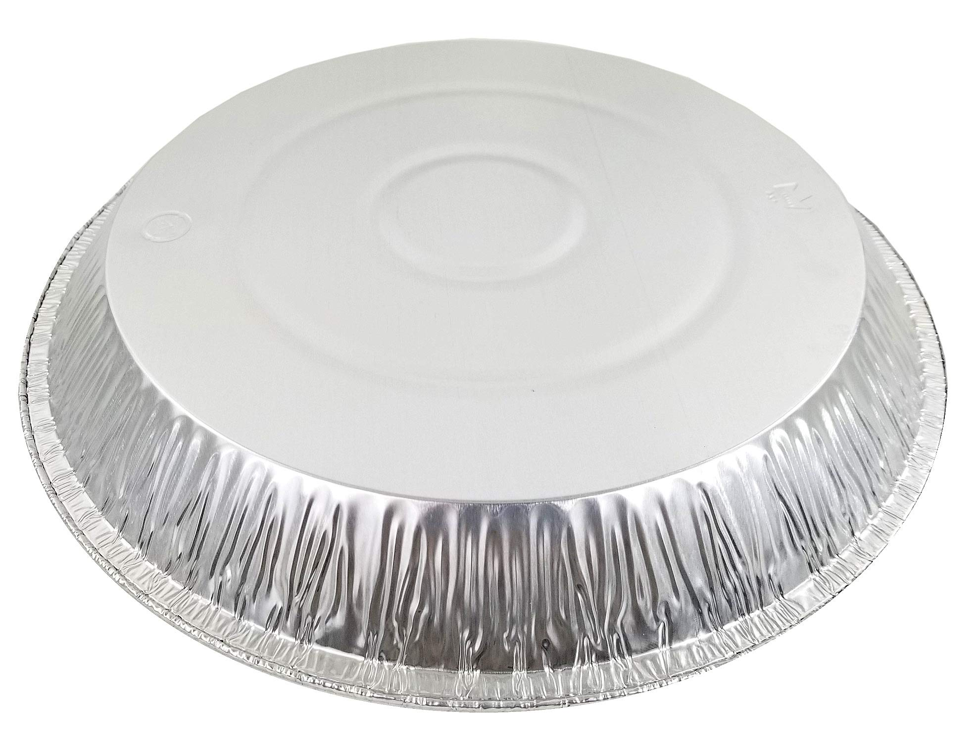 Pactogo 12'' Aluminum Foil Pie Pan Extra-Deep Disposable Tin Plates (Pack of 500) by PACTOGO (Image #5)